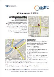 Winterprogramm 2012/2013