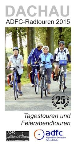 ADFC-Dachau-Radtouren-2015-Titelseite